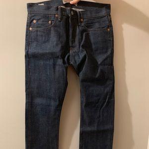 Men's GAP Japanese Selvedge Jeans Size slim 29x30